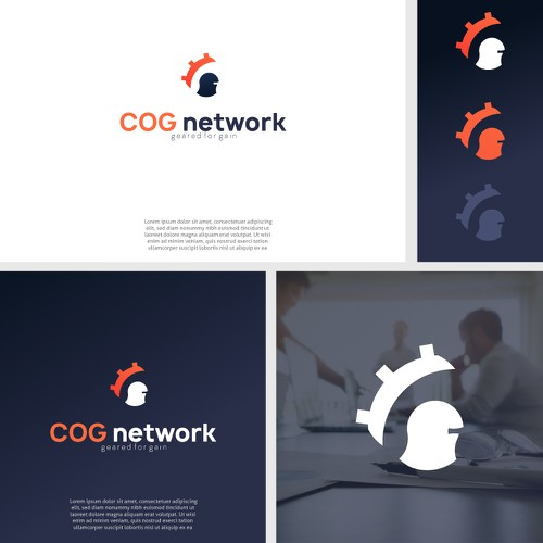 Logo for a cyber-security company