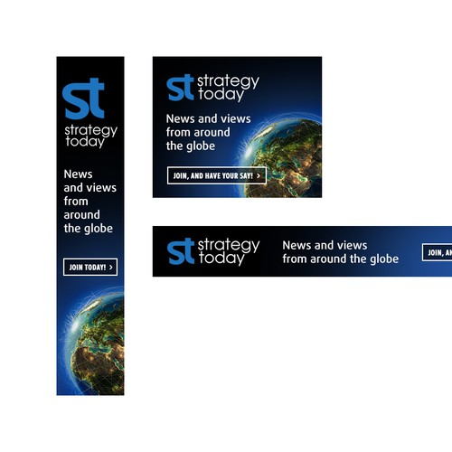 Banner ads for strategy today