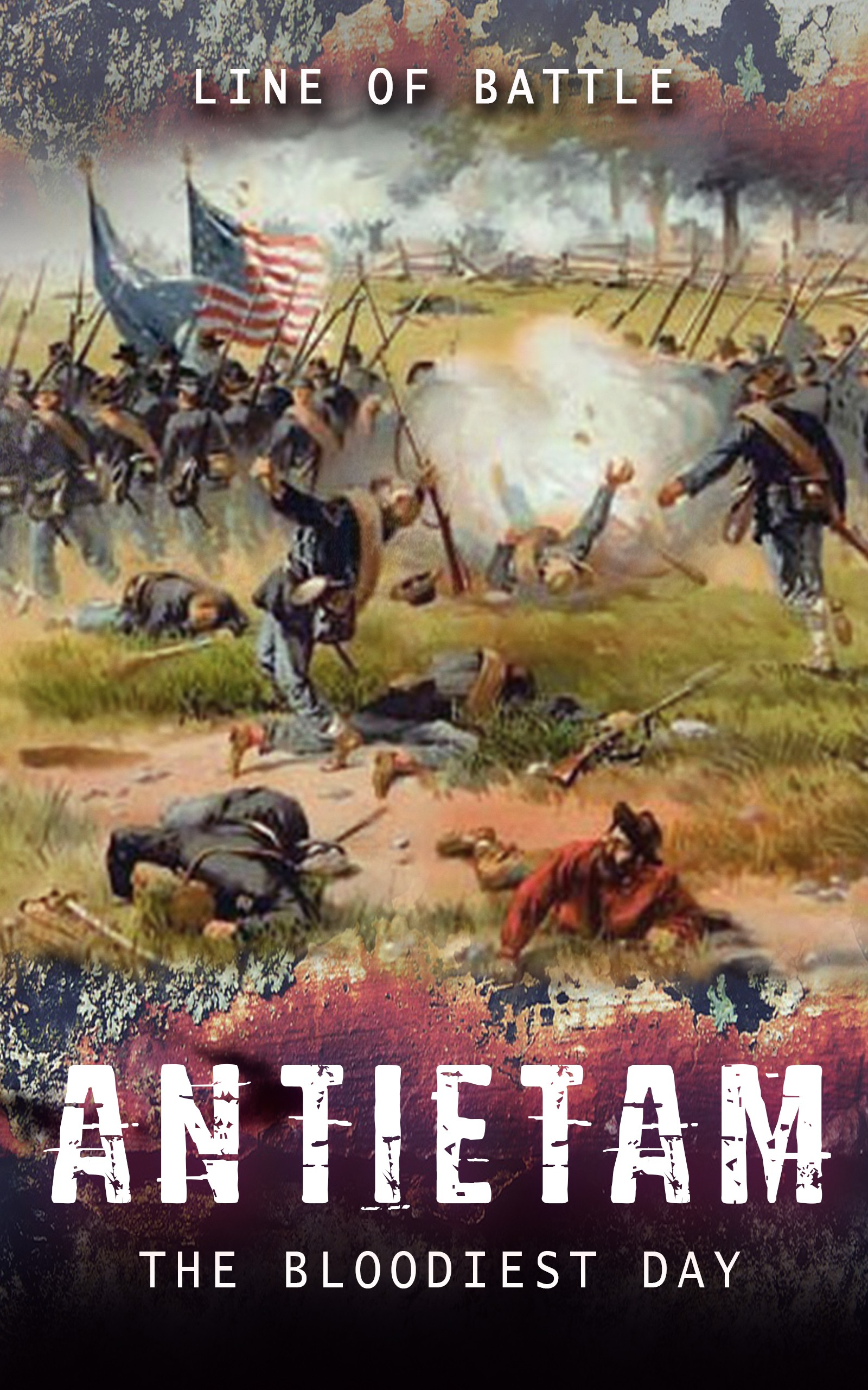 Create eBook cover for Civil War history