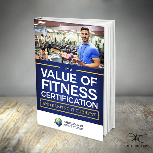 "Book cover design for ""The Value of Fitness Certification"""