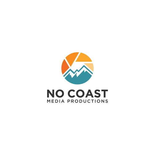 Bold logo design for No Coast Media Productions