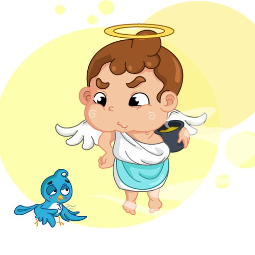 Angel Mascot Concept II - for Taiwan Restaurant