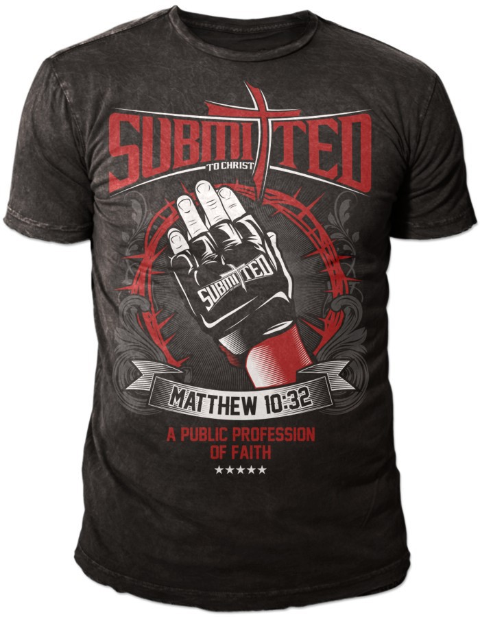Submi†ted To Christ Signature Walkout T-Shirt