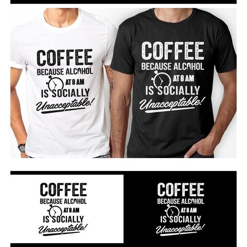 Coffee/Caffeine Shirt
