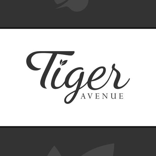 A classy modern logo design for Tiger Avenue.