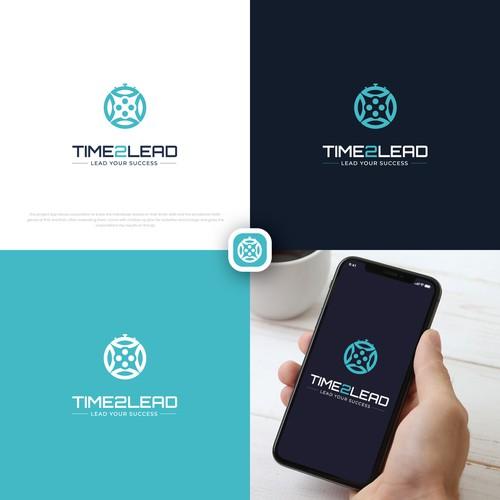 Time2Lead logo & hosted website design