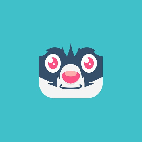 Playful Raccoon App Icon