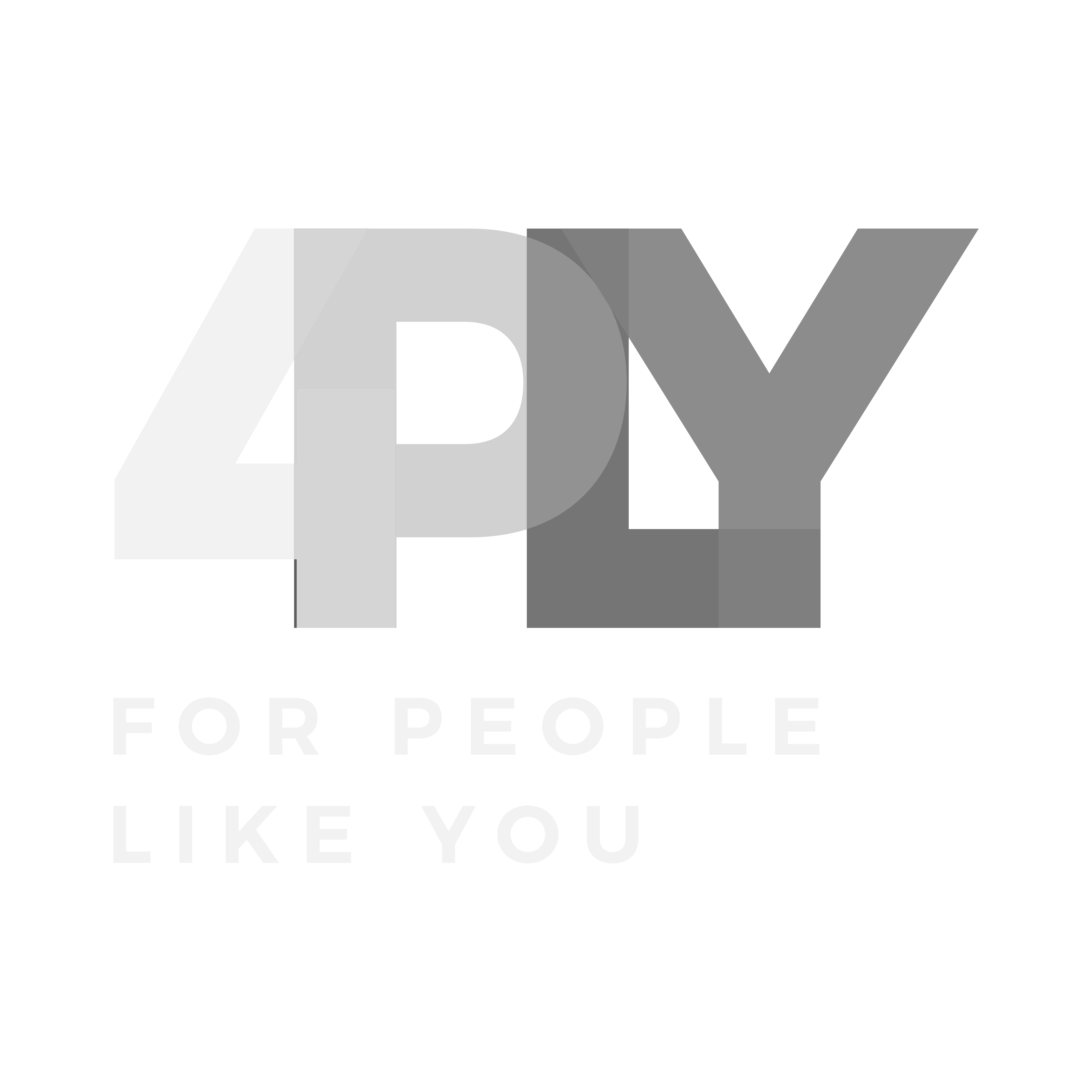 "Create a logo for the brand ""4PLY"" (social media & entertainment)"