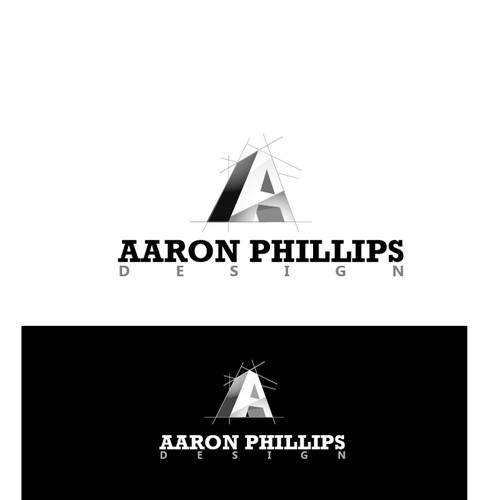 Aaron Phillips Design Logo concept