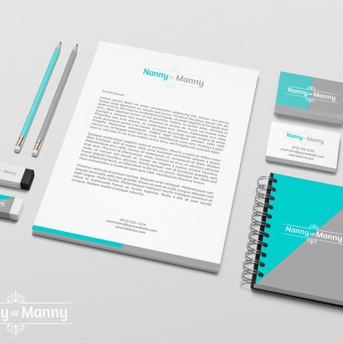 Logo design for Nanny or Manny