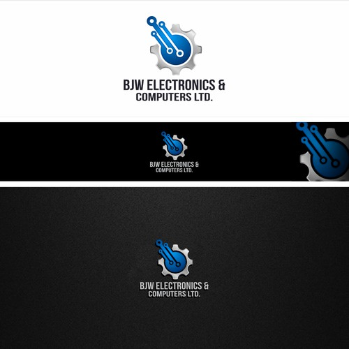 Bold logo for BJW electronics