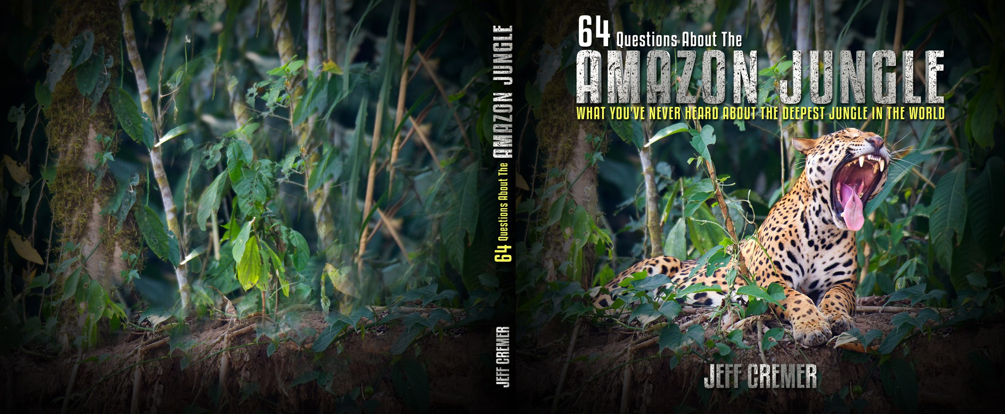 Book Cover Design For A Photography Book About The Amazon Jungle