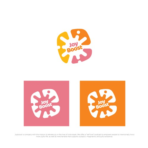 "Logo for a ""self love"" podcast company"