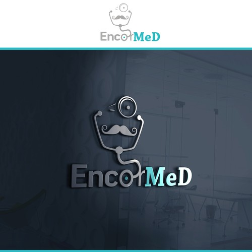 EncorMed logo design for senior phisitians