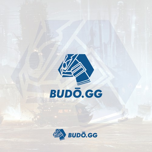 Japan Samurai Helmet Logo for Budo.GG