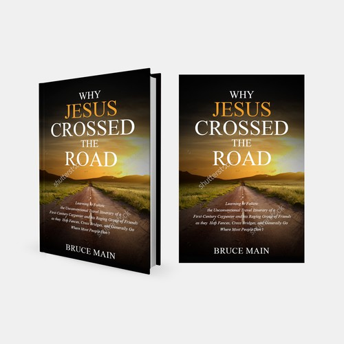 Winner - Create a book cover for a book on what it means to authentically follow Jesus