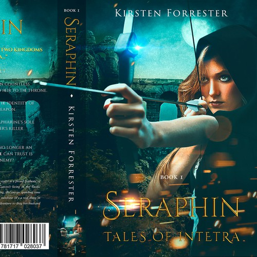 "Book Cover for SERAPHIN ""Tales of Intetra"""