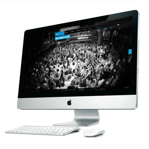 website design for Christophe Thiago