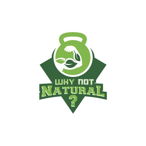 Innovative logo concept for healthy supplement company