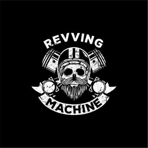 Automotive skull logo