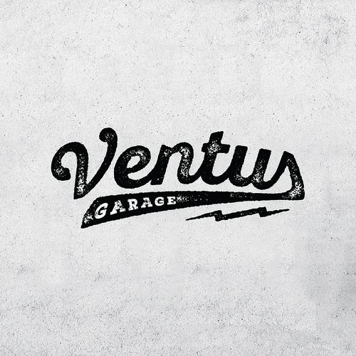 Vintage garage logo