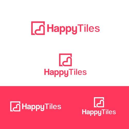 Logo for HappyTiles