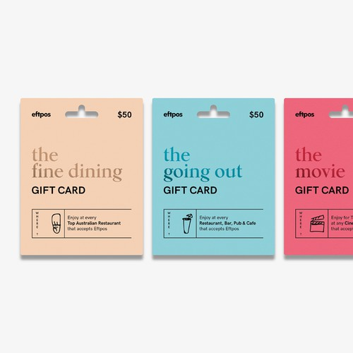 Gift Cards Packaging