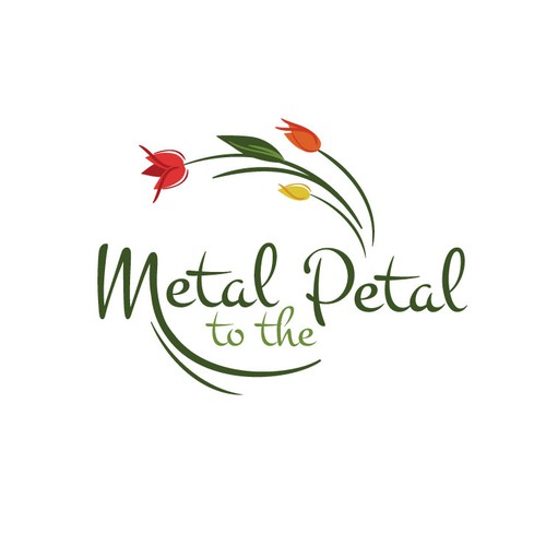 Create the next logo for Metal to the Petal