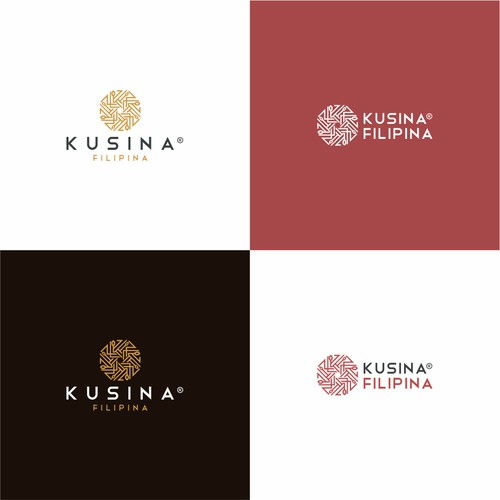 Elegant Logo For Kusina Filipina