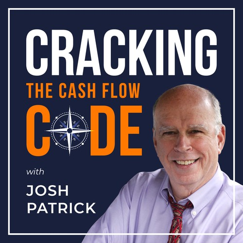 Cracking the Cash Flow Code Podcast Cover Design