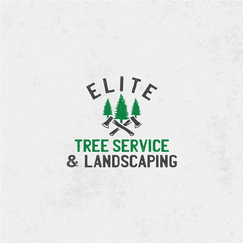 Tree removal and Landscaping Logo design