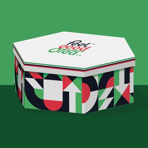 Packaging design for UAE national day. Feel Good Tea.