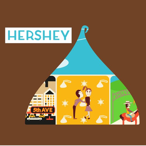 99designs Community Contest: Reimagine Hershey's Logo!