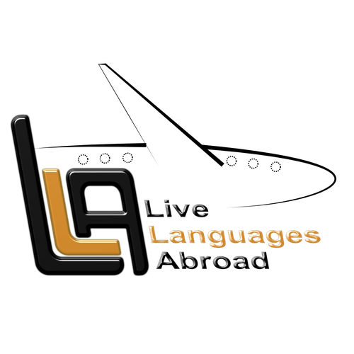 Concept logo for study and travel agency