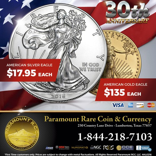 Paramount Rare Coin & Currency