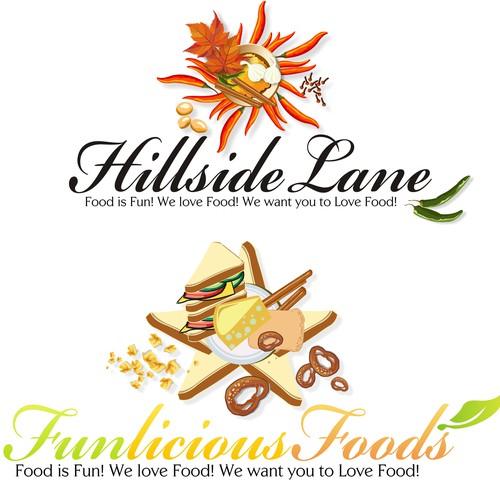 Logo Concept design for food company