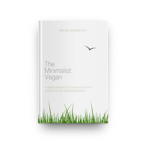 Minimalist and clean book cover