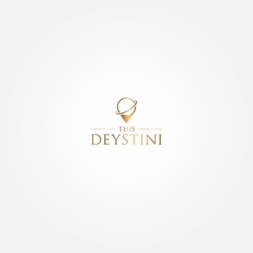 Luxury logo for traveling