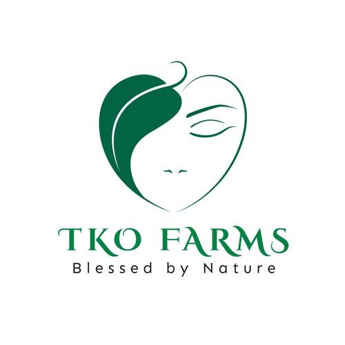 Logo for upscale wellness brand