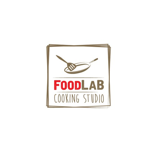 Logo Concept For FoodLab Cooking Studio