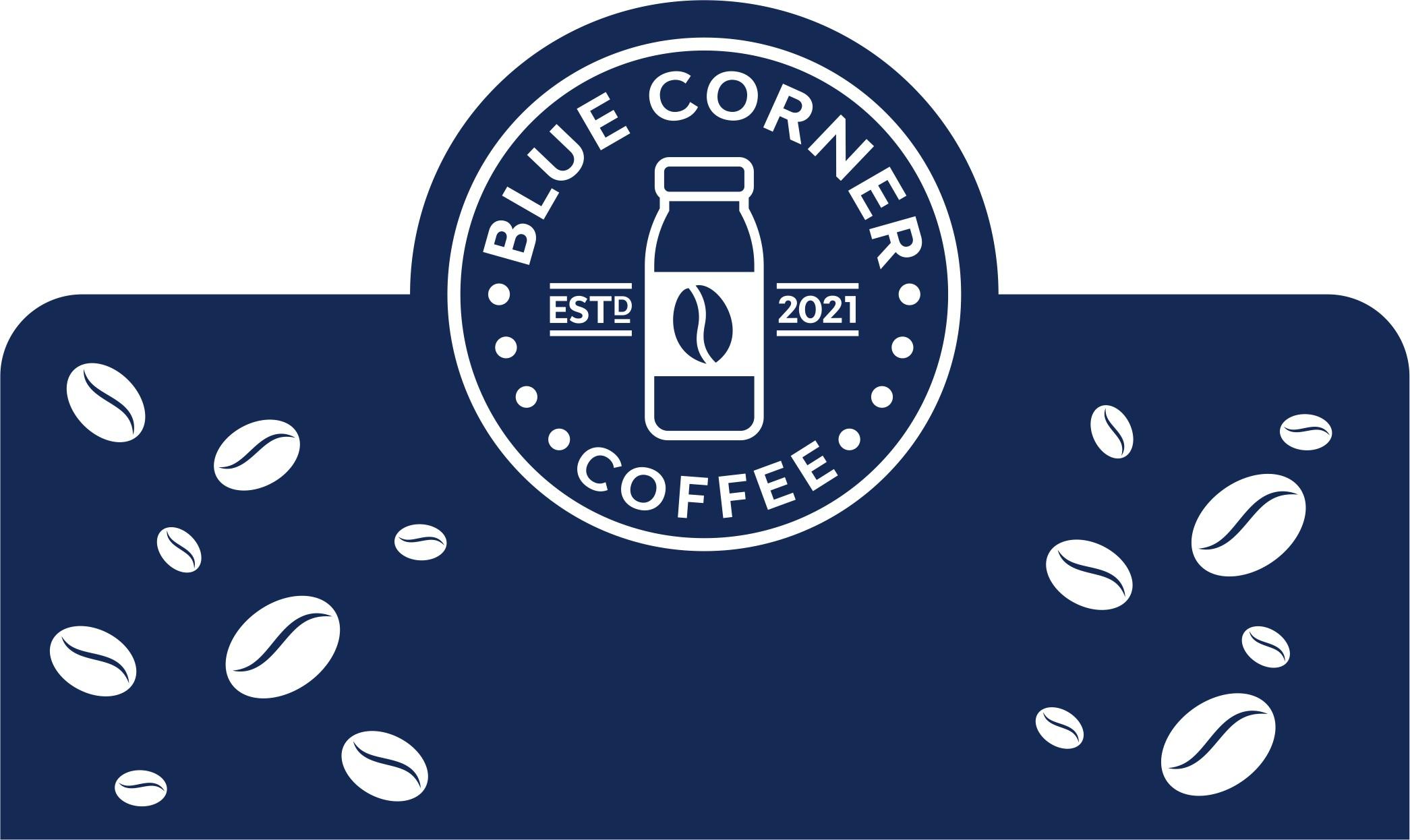Packaging design for Blue Corner Coffee