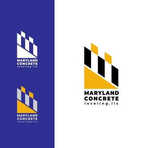 Logo design for concrete leveling company