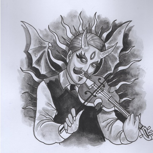 traditional style devil