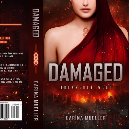 "Book cover for title ""DAMAGED"""