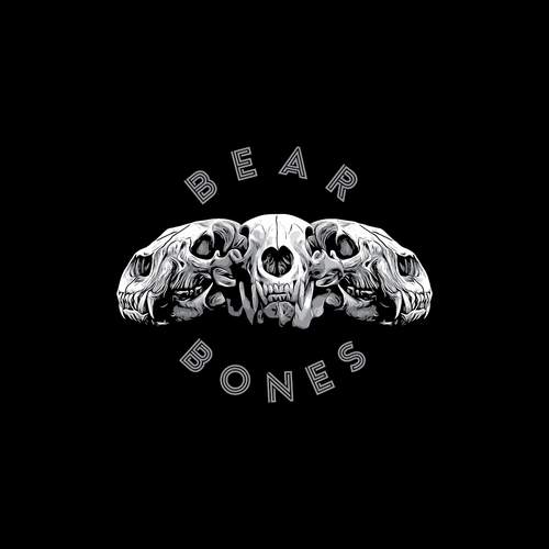 Tshirt design for BEAR BONES