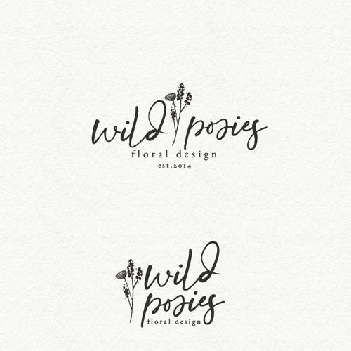 Wild posies floral