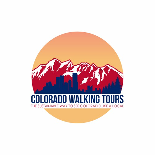 Logo design Colorado Walking Tours