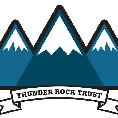 Complete freedom to design a logo for 'Thunder Rock Trust'