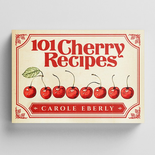 Cover Re-Design of an Old Recipe Book