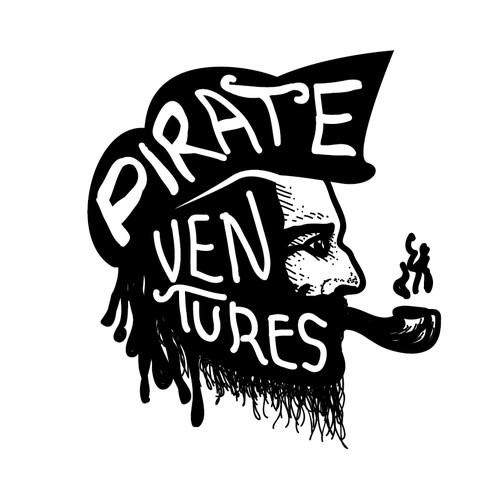 Logo concept Pirate Ventures